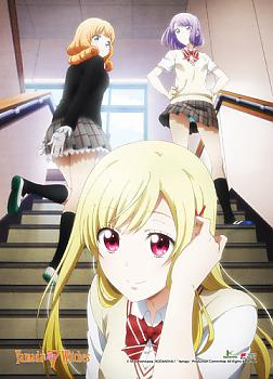 Yamada-kun and The Seven Witches Wall Scroll - Stairs