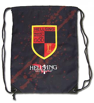 Hellsing Ultimate Drawstring Backpack - Hellsing Organization Emblem