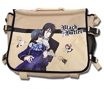 Black Butler Messenger Bag - Sebastian and Ciel