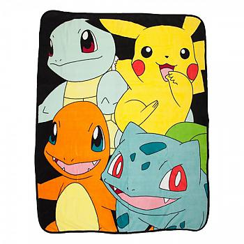Pokemon Throw Blanket - Starters