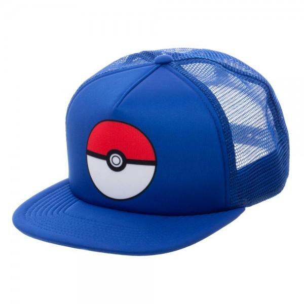 Pokemon Cap - Pokeball Blue Trucker (Team Mystic)  Archonia US 6d2ac58ae011