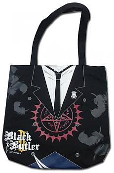 Black Butler 2 Tote Bag - Sebastian