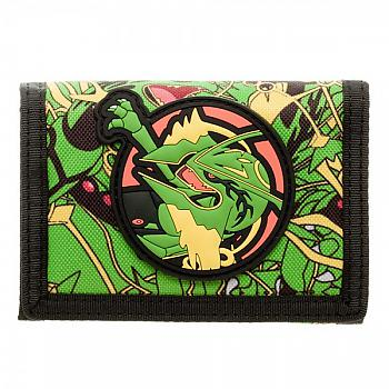 Pokemon Wallet - Rayquaza Velcro
