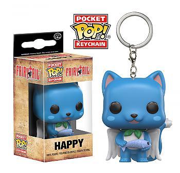 Fairy Tail Pocket POP! Key Chain - Happy