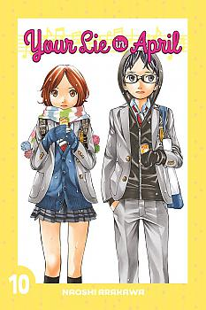 Your Lie in April Manga Vol.  10