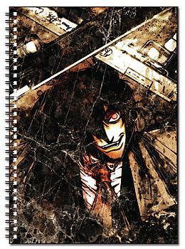 Hellsing Ultimate Spiral Notebook - Alucard