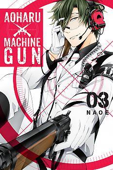 Aoharu X Machinegun Manga Vol.   3
