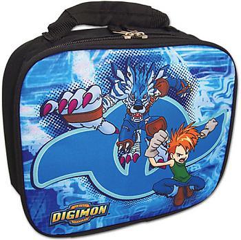 Digimon Lunch Bag - Weregarurumon & Matt