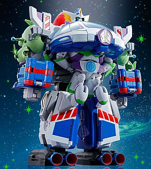 Toy Story Combination Action Figure - Buzz Lightyear the Space Ranger Robo Chogattai Chogokin