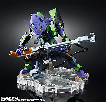 Evangelion Nxedge Style Action Figure - Evangelion Unit-01 [Evangelion: 1.0 You Are (Not) Alone]
