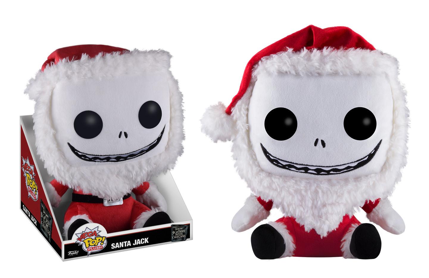 Nightmare Before Christmas 12\'\' Mega POP! Plush - Santa Jack ...