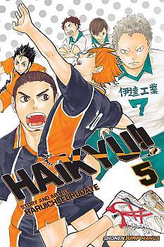 Haikyu!! Manga Vol.   5