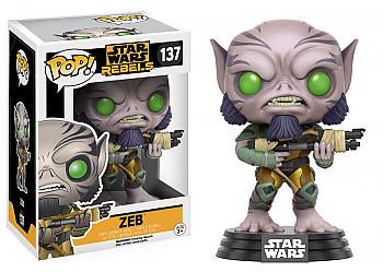 Star Wars Rebels POP! Vinyl Figure - Zeb