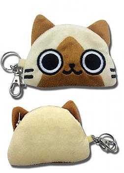 Airou From the Monster Hunter 4'' Coin Purse - Airou Head
