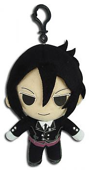 Black Butler 5'' Plush Key Chain - Sebastian