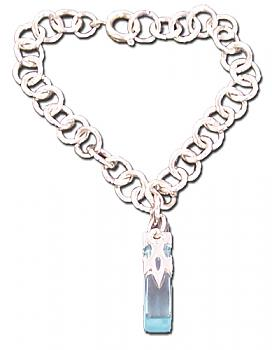 Sword Art Online Bracelet - Crystal Charm