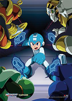 Megaman Wall Scroll - Attack From All Sides