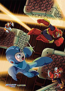 Megaman Wall Scroll - Escape