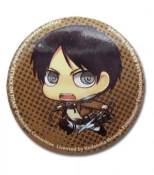 Attack on Titan Button - SD Eren
