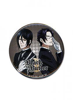 Black Butler 2 1.25'' Button - Sebastian & Claude