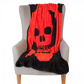 Gears of War Throw Blanket - Blood Omen Cog Fleece