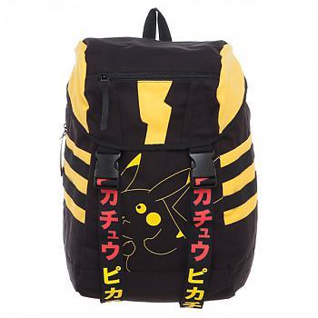 Pokemon Backpack - Pikachu Katakana Knapsack