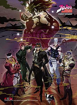 Jojo's Bizarre Adventure High End Wall Scroll - Stardust Crusaders