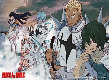Kill la Kill Premium Wall Scroll - Honnouji Academy Student Council [LONG]