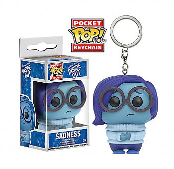 Inside Out Pocket POP! Key Chain - Sadness (Disney)