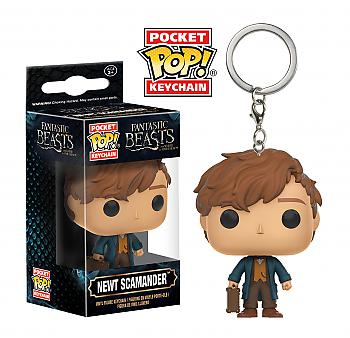Fantastic Beasts and Where to Find Them Pocket POP! Key Chain - Newt Scamander