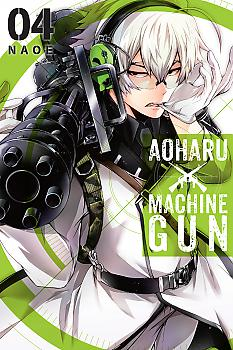 Aoharu X Machinegun Manga Vol.   4