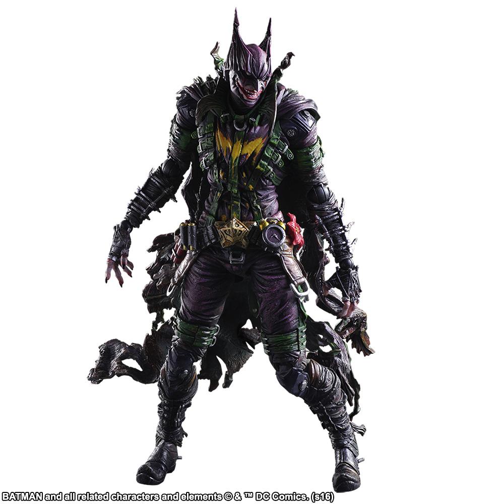 Play Arts Kai Batman Rogues Gallery Joker Action Figure Toy Doll Model Statue Z