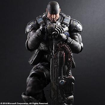 Gears of War Play Arts Kai Action Figure - Marcus Fenix