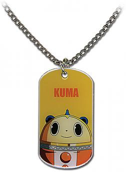 Persona 4 Necklace - Kuma Dog Tag