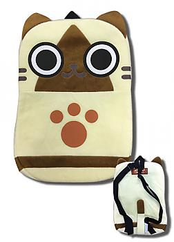 Airou From The Monster Hunter 12.5'' Plush Backpack - Airou
