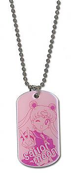 Sailor Moon Necklace - Dog Tag Sailor Moon