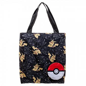 Pokemon Tote Bag - Pikachu Packable Pokeball
