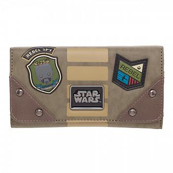 Star Wars Rogue One Wallet - Rebel Jrs. Flap