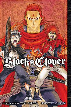 Black Clover Manga Vol.   4