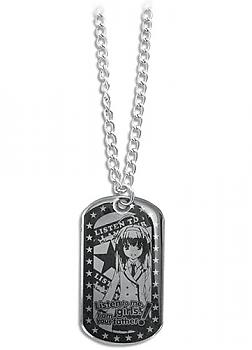 Listen to Me Girls Necklace - Sora Dog Tag