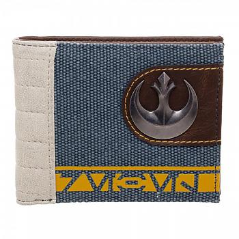 Star Wars Rogue One Bifold Wallet - Rebel Mixed Material