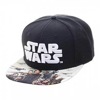 Star Wars Rogue One Cap - Sublimated Bill Snapback
