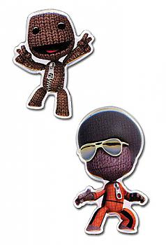 Little Big Planet Pins - Sack Boy (Set of 2)