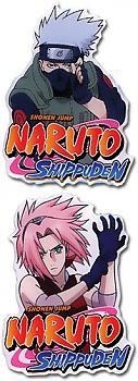 Naruto Shippuden Pins - Kakashi and Sakura (Set of 2)