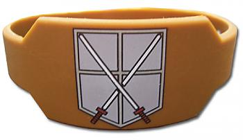 Attack on Titan Wristband - 104th Cadet Corps Brown