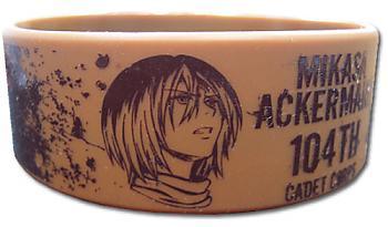 Attack on Titan Wristband - Mikasa 104th Cadet Corps