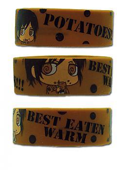 Attack on Titan Wristband - Sasha Potatoes Best Eaten Warm