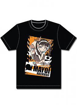 Bakemonogatari T-Shirt - Mayoi Black (XXL)