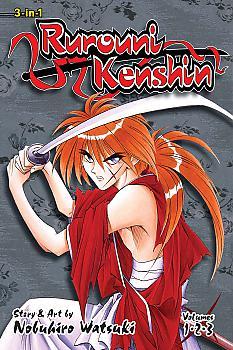 Rurouni Kenshin Omnibus Manga Vol.   1