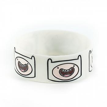 Adventure Time Wristband - Finn Faces (3 Pack)